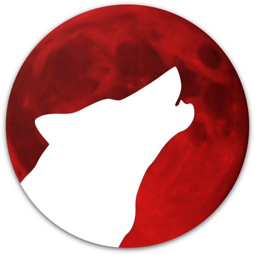 Red Moon Icon