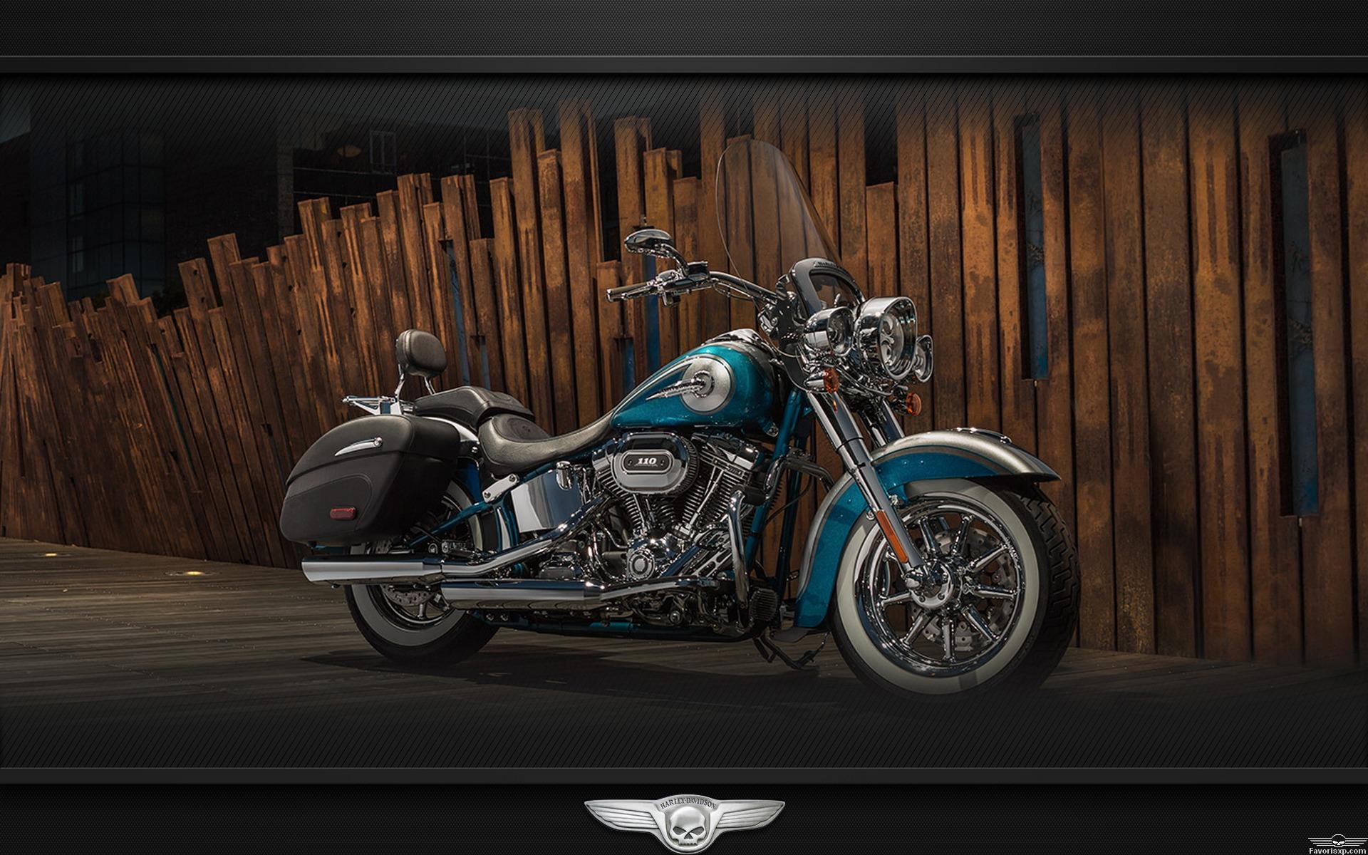 Fond d'écran de Harley Davidson.