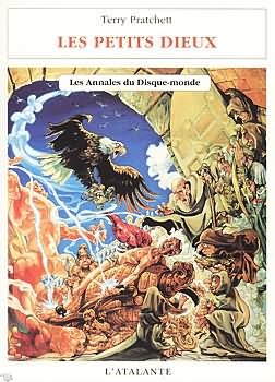 Couverture Les Annales du Disque-Monde, Tome 13 : Les Petits dieux de Terry Pratchett