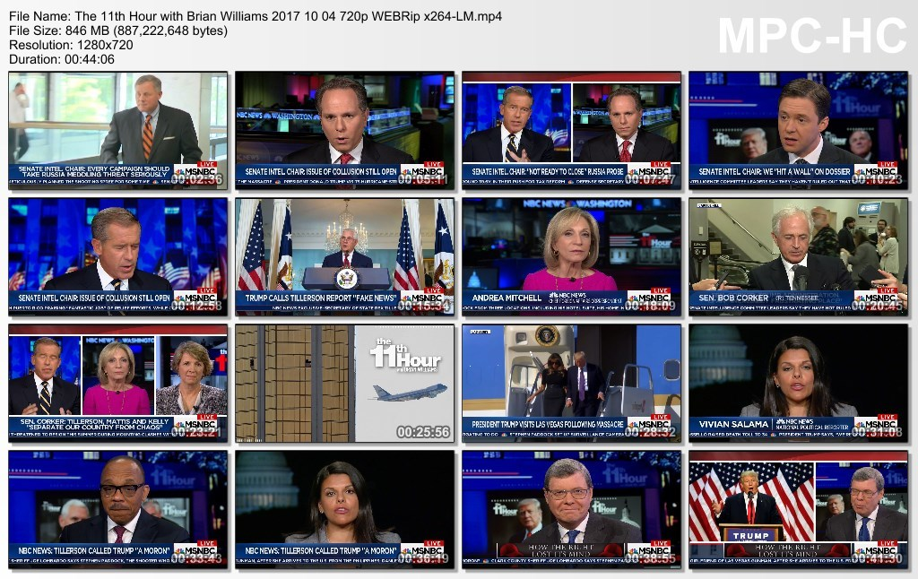 The 11th Hour with Brian Williams 2017 10 04 720p WEBRip x264-LM