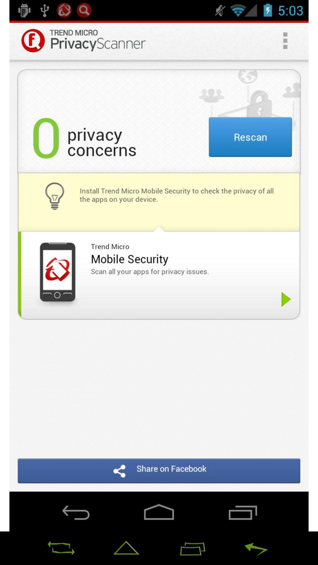 [APPLICATION ANDROID - Privacy Scanner for Facebook] protéger ses données privées sur ce réseau social [Gratuit][17.02.2014] C3EbSHcO