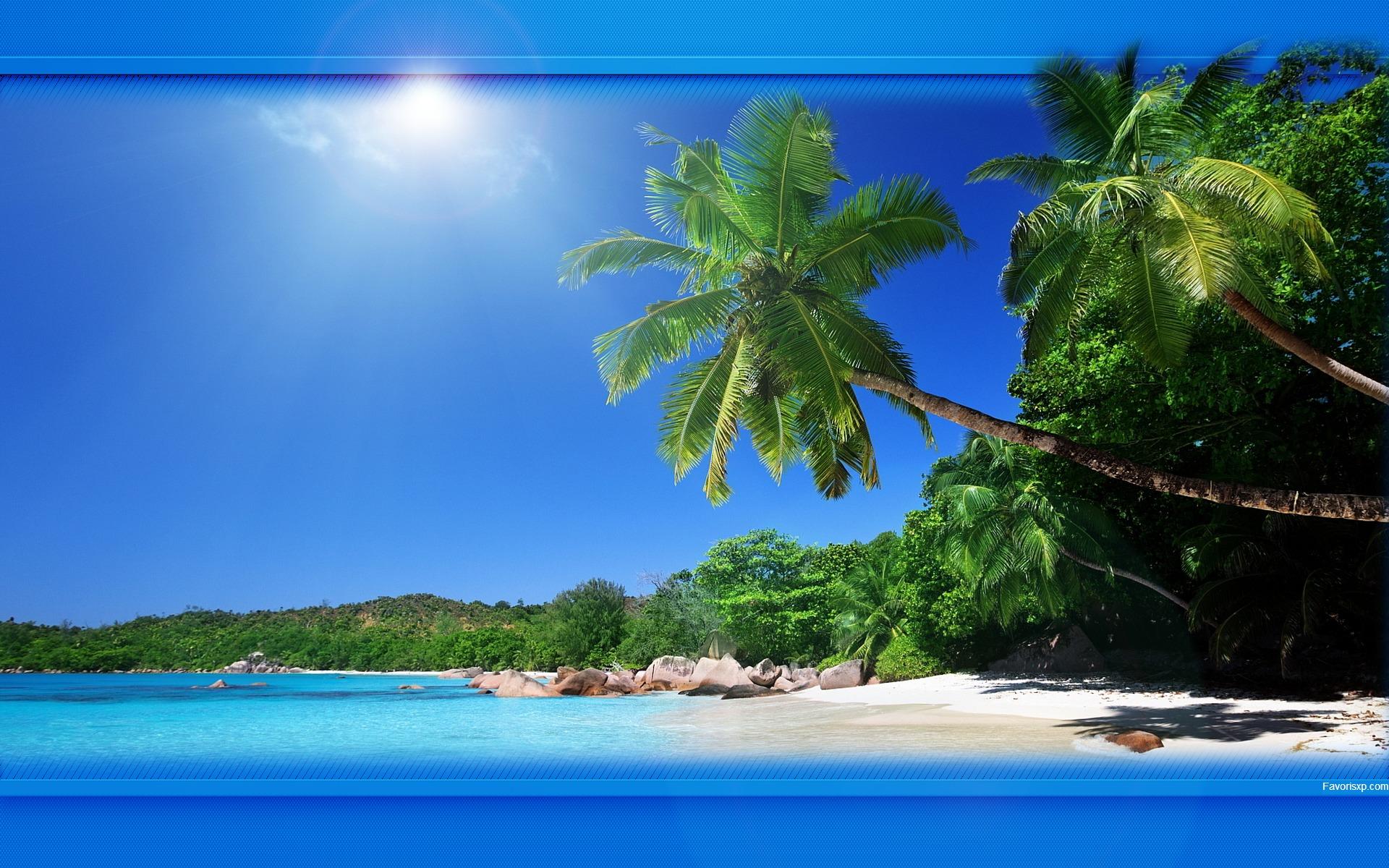 Fond d'écran de plages.