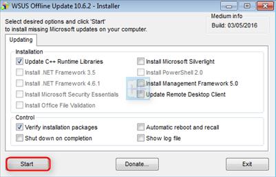 WSUS Offline Update BgXnpj8Dg7Dl38rl