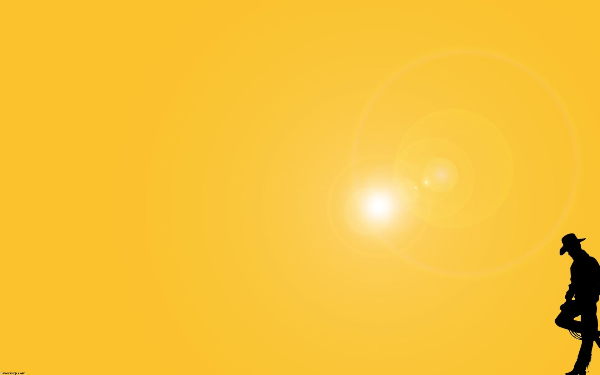 Fonds d écran couleur jaune en wallpapers