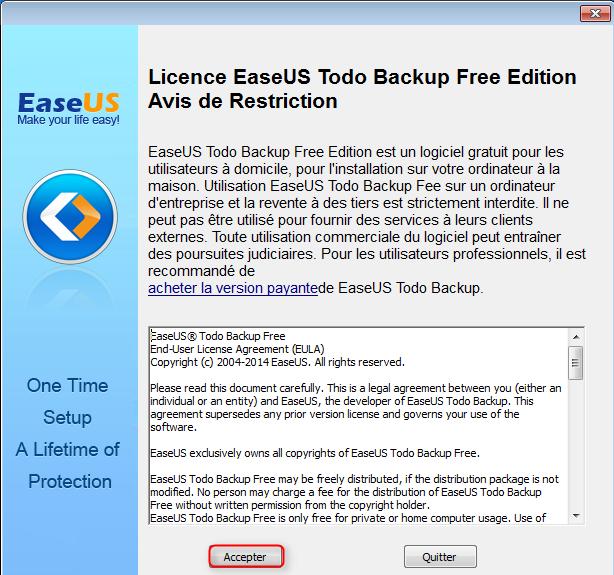 EaseUS Todo Backup Free GzmO741c