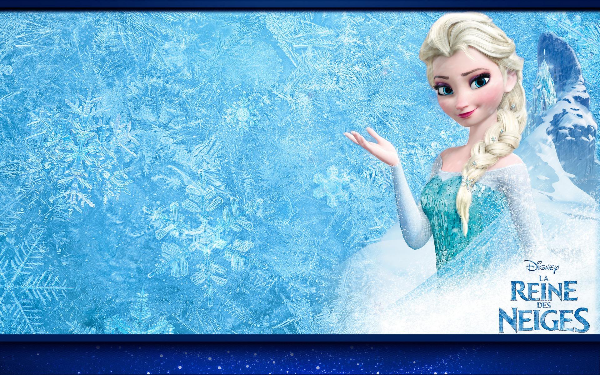 fond d'ecran anime reine des neiges