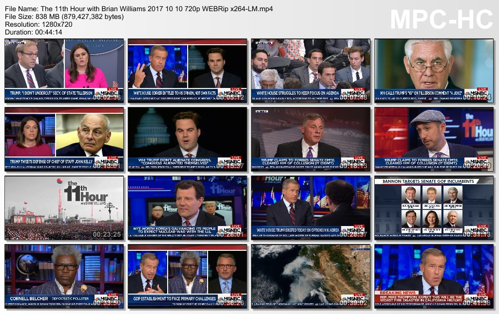 The 11th Hour with Brian Williams 2017 10 10 720p WEBRip x264-LM