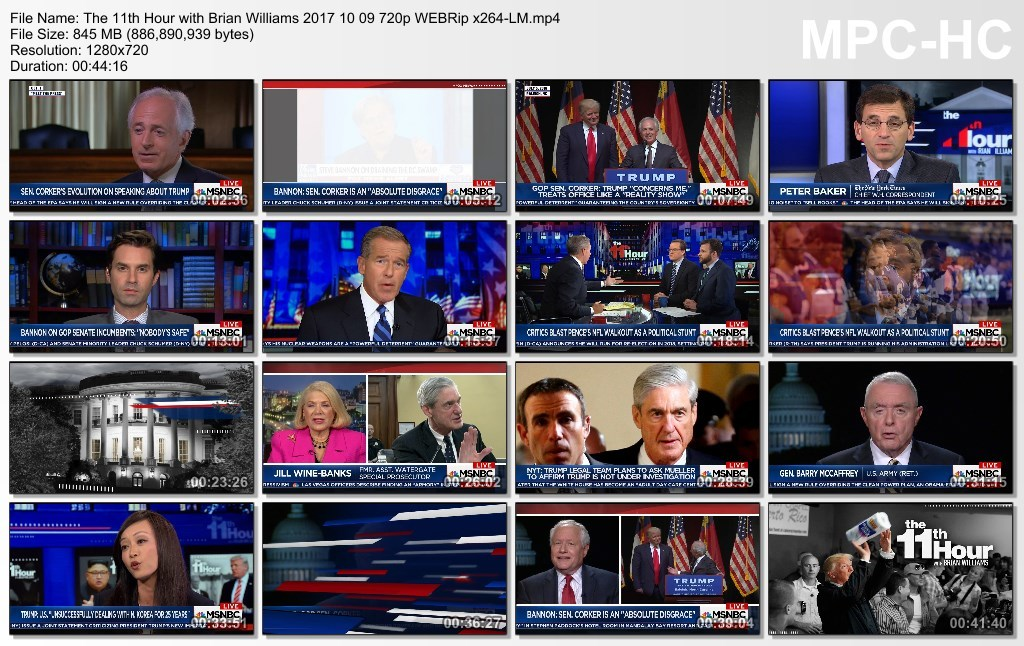 The 11th Hour with Brian Williams 2017 10 09 720p WEBRip x264-LM