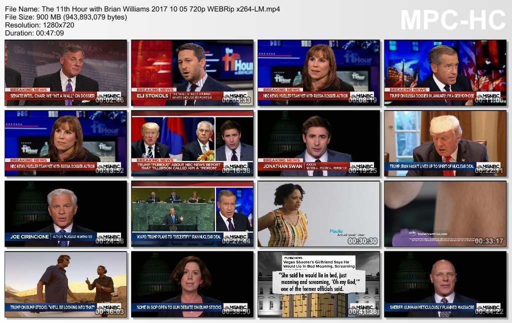 The 11th Hour with Brian Williams 2017 10 05 720p WEBRip x264-LM