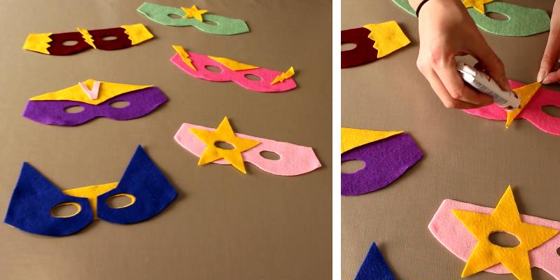 Gut bekannt Fabriquez votre masque de super héros pour Carnaval pour les enfants MN18