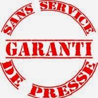 Garanti sans service de presse