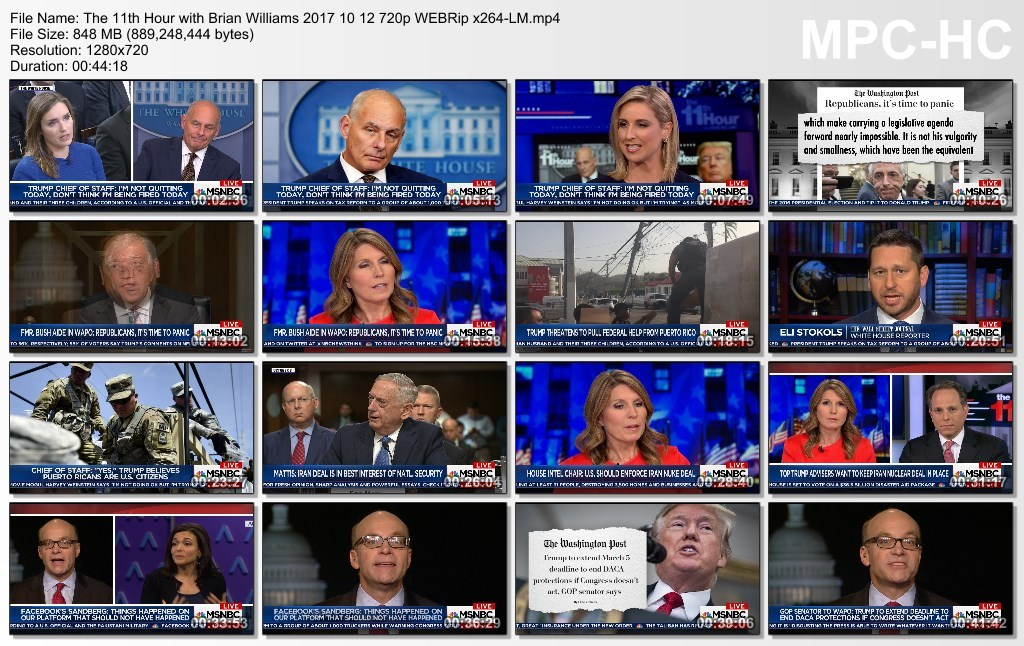 The 11th Hour with Brian Williams 2017 10 12 720p WEBRip x264-LM