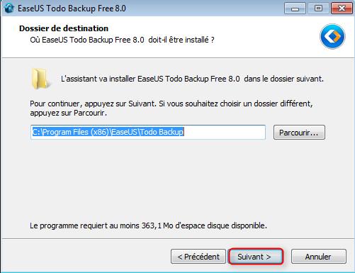 EaseUS Todo Backup Free 58q6o38E