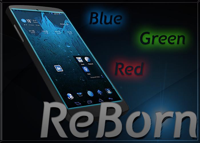 [Theme Chooser] ReBorn Theme CM10/CM11/AOSP  | Vert, Rouge et Bleu - Google Play [05.04.2014] RgN63gaR